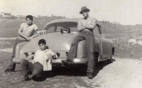 Fotografía: propiedad de Jesús Silva Rangel, Vaso de La Presa Abelardo L. Rodríguez, década de 1950,Tijuana, Baja California.